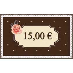 Kinkekaart 15€