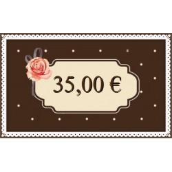 Kinkekaart 35€