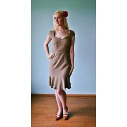 30ndate stiilis teksa efektiga kleit