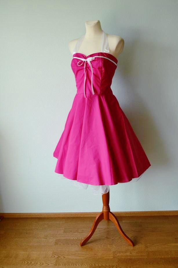 3f70a6b1826 Rockabilly pin-up stiilis kleit - Muigur Vintage Stiili Pood