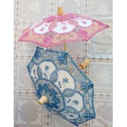Lace mini parasol