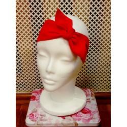Red pin-up headband