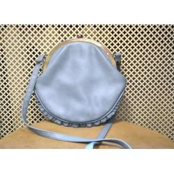 Light blue coin bag look shoulderbag