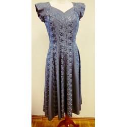 Tuhksinine vintage kleit