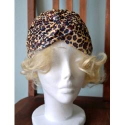 Leopardi mustriga turban