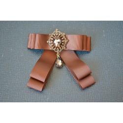 Sädeleva kameega pruun lips-pross