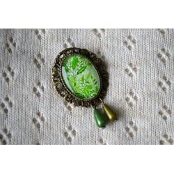 Roheline vintage stiilis pross